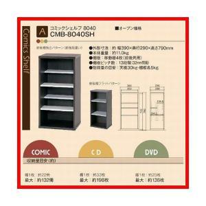 コミック 収納 本棚 コミディス シェルフ 幅39cm CMB-8040SH 朝日木材加工|kagu-11myroom