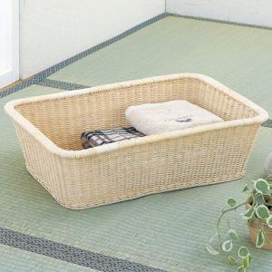 籐バスケット 脱衣カゴ角型 IMC2001 今枝商店 kagu-11myroom