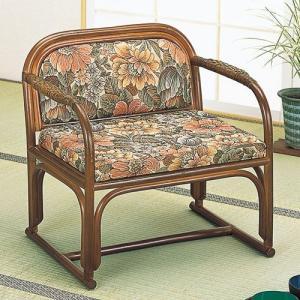 籐椅子 籐の椅子 座椅子 ラタン 椅子 座面高32cm IMS112B 今枝商店|kagu-11myroom