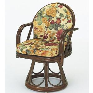 籐椅子 籐の椅子 回転座椅子 ラタン 椅子 ハイタイプ 座面高43cm IMS544B 今枝商店|kagu-11myroom