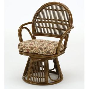 籐椅子 籐の椅子 回転座椅子 ラタン 椅子 ハイタイプ 座面高40cm IMS883B 今枝商店|kagu-11myroom