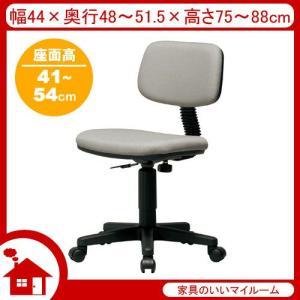 オフィスチェア オフィスチェアー SH41〜54cm グレー KoK-926-GR 弘益|kagu-11myroom
