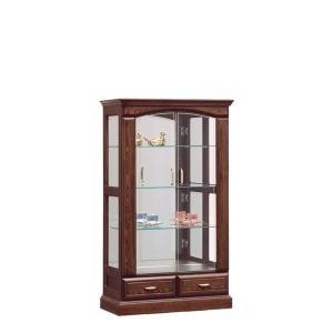 コレクションケース コレクションボード 80幅 幅80cm 高さ140 無垢 木製 アウトレット価格並 高級家具 和風 モダン 完成品 国産 大川家具 北欧 日本製|kagu-1