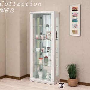コレクションケース コレクションボード ガラスケース コレクションラック 飾り棚 完成品 モダン ホワイト ブラック ナチュラル アウトレット価格並|kagu-1