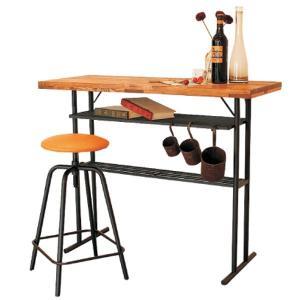 バーカウンター カウンターテーブル BAR ホームバー キッチン収納 木製 110幅 幅110cm 北欧 シンプル モダン パイン無垢 アウトレット価格並 大川家具|kagu-1