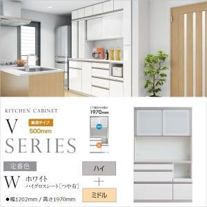 キッチンボード バリオ vario アヤノ 国産 VH-120FS VL-W120K 3段引出し 完成品 カウンター高さ863mm 食器棚 家電収納|kagu-hiraka