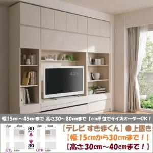 テレビ すきまくん 上置 LSK-UTL R 日本製 幅15cm-30cm 高さ30cm-40cm|kagu-hiraka