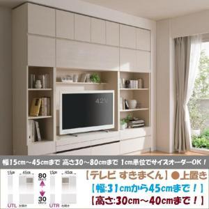 テレビ すきまくん 上置 LSK-UTL R 日本製 幅31cm-45cm 高さ30cm-40cm|kagu-hiraka