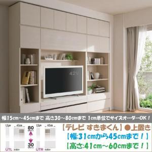 テレビ すきまくん 上置 LSK-UTL R 日本製 幅31cm-45cm 高さ41cm-60cm|kagu-hiraka