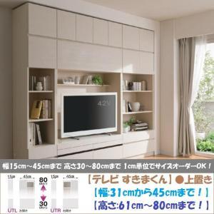 テレビ すきまくん 上置 LSK-UTL R 日本製 幅31cm-45cm 高さ61cm-80cm|kagu-hiraka