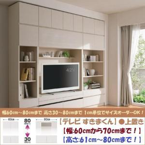 テレビ すきまくん 上置 LSK-UWT 日本製 幅60cm-70cm 高さ61cm-80cm|kagu-hiraka