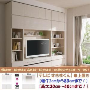 テレビ すきまくん 上置 LSK-UWT 日本製 幅71cm-80cm 高さ30cm-40cm|kagu-hiraka