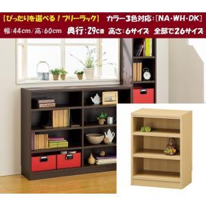 フリーラック タナリオ TNL-6044 組立品 多目的棚 収納家具 スタンダード kagu-hiraka