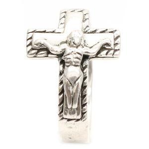 レディース メンズ ユニセックス リング 指輪 シルバー 925 クロス 十字架 キリスト 張り付け アンティーク ゴシック プレゼント ギフト|kagu-piena