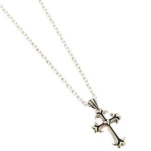 ネックレス レディース メンズ シルバー925製 クロス ハート 十字架 ユニセックス 男女兼用 お揃い ペア シルバーアクセサリー 記念日 プレゼント用にも|kagu-piena