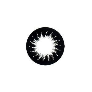フラワーアイズ カラコン カラーコンタクトレンズ 1箱2枚入 度なし 使い捨て アマリリスブラック マンスリー デイリー 14.5mm|kagu-piena