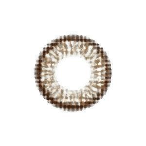 フラワーアイズ カラコン カラーコンタクトレンズ 1箱2枚入 度なし 使い捨て クレマチスモカ マンスリー デイリー 14.5mm|kagu-piena