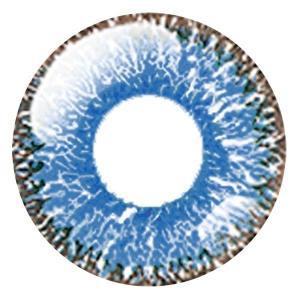 ドルチェ パーフェクト1day カラコン カラーコンタクトレンズ 1箱6枚入 度なし 天の川 コバルトブルー 14.5mm 使い捨て サンドイッチ構造|kagu-piena