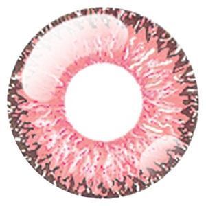 ドルチェ パーフェクト1day カラコン カラーコンタクトレンズ 1箱6枚入 度なし 紅梅ピンク 14.5mm 使い捨て サンドイッチ構造|kagu-piena