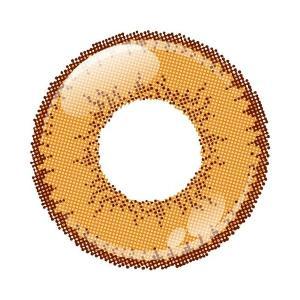 アシストシュシュ シャイニーエッジワンデー カラコン カラーコンタクトレンズ 1箱10枚入 度なし アプリコット 男装向き 超発色 コスプレ|kagu-piena