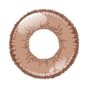 アシストシュシュ シャイニーエッジワンデー カラコン カラーコンタクトレンズ 1箱10枚入 度なし ミルクチョコレート 男装向き 超発色 コスプレ|kagu-piena