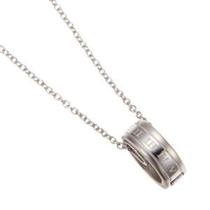 f620b8a3e6b182 ペンダント 指輪ホルダーネックレス サージカルステンレス製 ローマ数字 金属アレルギー 40cm 45cm 50cm
