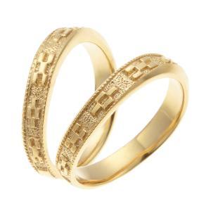 ペアリング シルバー925製 マリッジリング 結婚指輪 ミンサー柄 彫刻 細身 重ね付け 沖縄製|kagu-piena