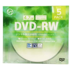 VERTEX DVD-RW(Video with CPRM)...