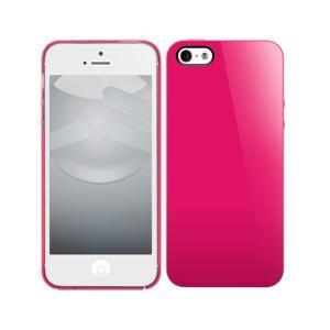 SwitchEasy NUDE for iPhone 5s/5 Fuchsia SW-NUI5-P|kagu-plaza