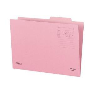 【商品名】 (まとめ) コクヨ 個別フォルダー(カラー) B4 ピンク B4-IFP 1セット(10...