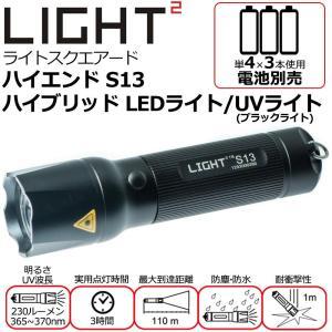 白色光のライトにUV光(ブラックライト)の機能を搭載したハイブリッドLEDライトです。美術品や宝石の...