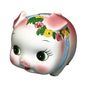 置いているだけでかわいい♪どこかで見たことあるような、定番のブタさん貯金箱です。 製造国:中国 素材...