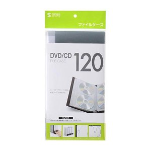 整理しやすい背表紙付きのDVD・CDファイルケース。不織布にはディスクを出し入れしやすい切れ込みと、...