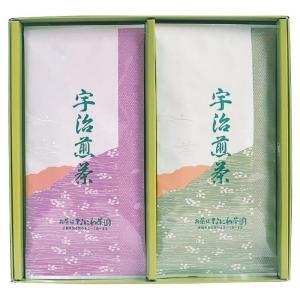 内祝いやご挨拶など、様々なシーンでの贈り物におすすめです。 生産国:日本 セット内容:宇治煎茶80g...