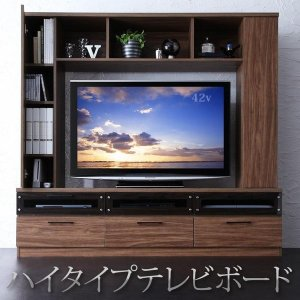 テレビ台 テレビボード TV台 TVボード ハイタイプ 大きい 壁面収納 おしゃれ 薄型 50型 幅170 ハイタイプテレビボード LEGGENDA|kagu-refined