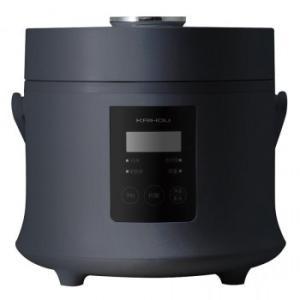 スタイリッシュ炊飯器 3合炊き オフブラック KH-SK500BK|kagu-refined