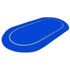 ポーカー・オーバルマット- カラー;ブルー|kagu-refined