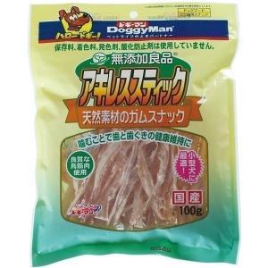 ドギーマンハヤシ 無添加良品 アキレススティック 100g 〔ペット用品〕|kagu-refined