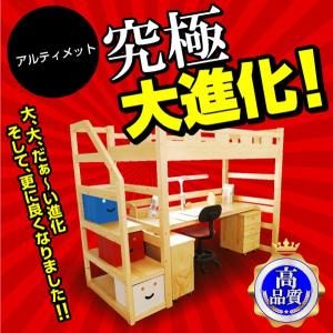 耐荷重500kg システムベッド デニム3(本体のみ)(デスクカーペットプレゼント)-ART|kagu-try|02