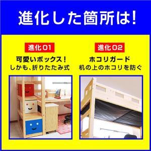 耐荷重500kg システムベッド デニム3(本体のみ)(デスクカーペットプレゼント)-ART|kagu-try|03