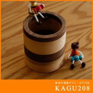 ペン立て 無垢 木製 小物 雑貨 ナチュラル ウッド インテリア ウォールナット オーク 天然木/ペン立て 丸 モザイク|kagu208