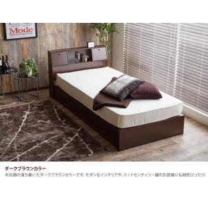 【シングル】【フレームのみ】 ベッド シングルベッド ベッドフレーム フレーム 収納 収納付き コンセント付き 大容量 ベッド下収納 照明付き 引き出し|kagu350|08