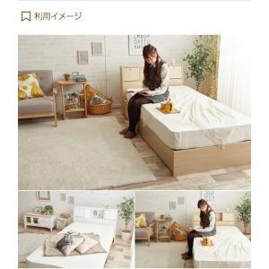 【シングル】【フレームのみ】 ベッド シングルベッド ベッドフレーム フレーム 収納 収納付き コンセント付き 大容量 ベッド下収納 照明付き 引き出し|kagu350|11