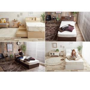 【シングル】【フレームのみ】 ベッド シングルベッド ベッドフレーム フレーム 収納 収納付き コンセント付き 大容量 ベッド下収納 照明付き 引き出し|kagu350|12