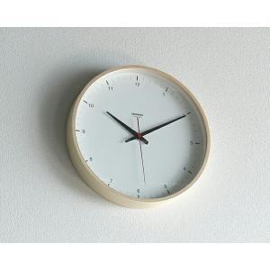 Lemnos(レムノス) 掛け時計 プライウッドクロック T1-017(1) クロック 壁掛け時計 グッドデザイン受賞 kagu