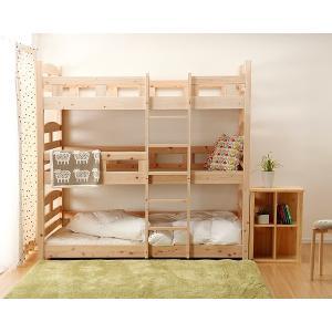 三段ベッド 国産 ひのき 木製 シンプル 安心|kagu|02