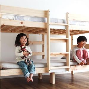 二段ベッド 特許申請中 オリジナル 国産 ひのき セパレート式 木製 子供用 マット ホワイトグレー 二段ベット 2段ベッド 日本製 アロマ効果 北欧|kagu|20