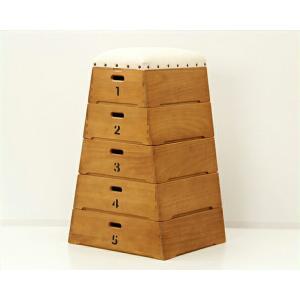 おもちゃ箱 座れるスツールとしても使える 収納ボックス|kagu