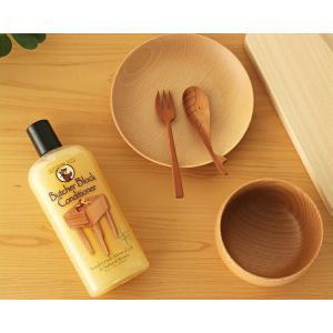 食品レベルのミネラルオイルと天然成分で構成されたワックス。木製カトラリー、調理器具、乳幼児向け玩具な...