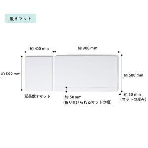 そいねーる+ ロング ベビーベッド 専用敷きマット付 yamatoya(大和屋)|kagu|16